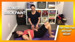 Best treatment for low back pain - How to relieve pain fast with breathing