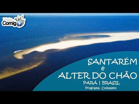 ALTER DO CHÃO E SANTARÉM - O caribe brasileiro no Pará | Programa Viaje Comigo