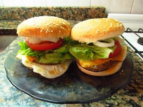 Comidas rapidas y faciles como hacer una hamburguesa - Comidas rapidas de hacer y faciles ...