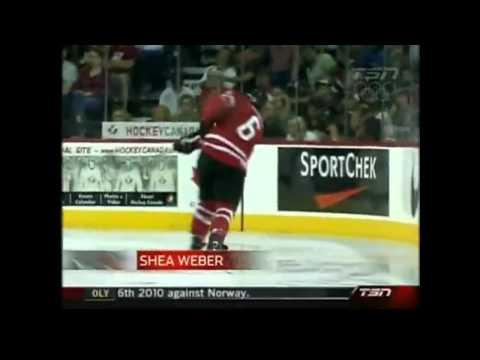 2010 Team Canada mens Olympic Hockey Team