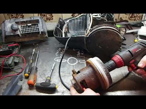 Ремонт двигателя пылесоса бош
