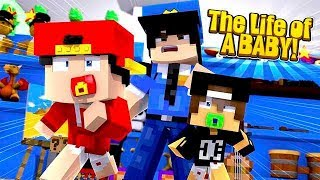 Minecraft Life of - ROPO & JACK LIVE THE LIFE OF BABIES!!