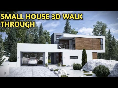 Small budget house 3d walk through//2019 best budget house plan idea