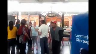 Violento desalojo de ambulantes en Puebla ¡a balazos!