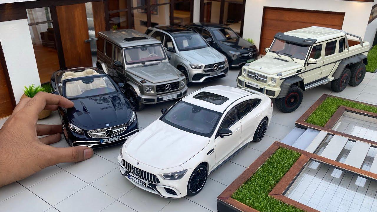 Mini Mercedes-Benz Luxury Diecast Model Cars Collection Part 2 | Miniature Automobiles