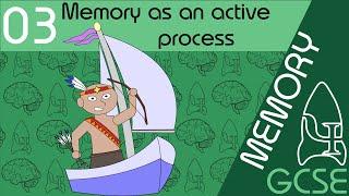Memory as an active process - Memory, GCSE Psychology [AQA]