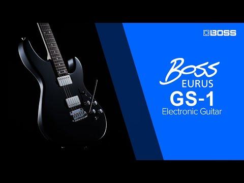 BOSS EURUS GS-1 Electronic Guitar - Introduction by Yoshi Ikegami