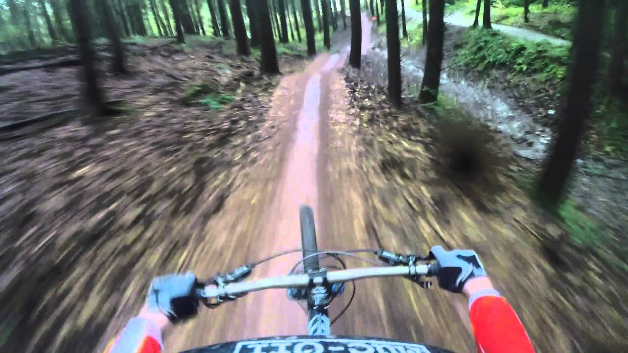 Launch Pad Mountain Bike Trail At Forest Of Dean With Ben Deakin