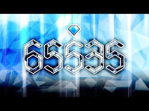 (FIRST IN THE WORLD!!!) 65,535 Diamonds [Geometry Dash 2.113]