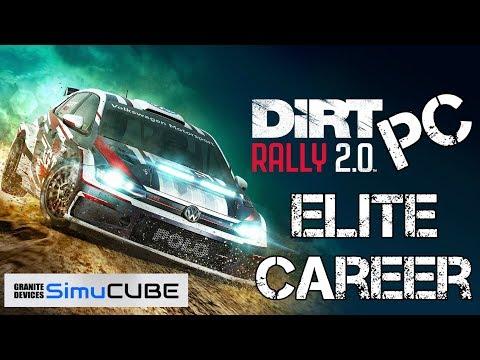 Dirt Rally 2.0 - elite career - Practice - triple screen