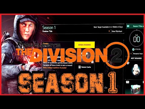 THE DIVISION 2: SEASON 1, NEPTUNE MANHUNT GAMEPLAY (Let's Play) |