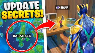 Fortnite NEW UPDATE - 15 SECRETS YOU MISSED!