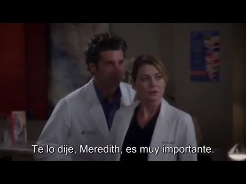 Meredith y Derek Part 18 ,Temp 10 (1/2) /...