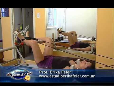 Pilates Reformer - Preparacion del espinal corto