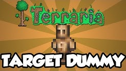 Terraria 1.3 Items - The 'Target Dummy' - New Terraria 1.3 Accessories / Items