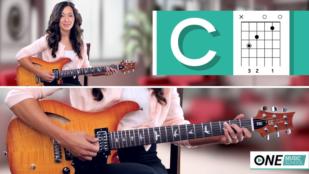 How To Play A C Chord On Guitar Youtube