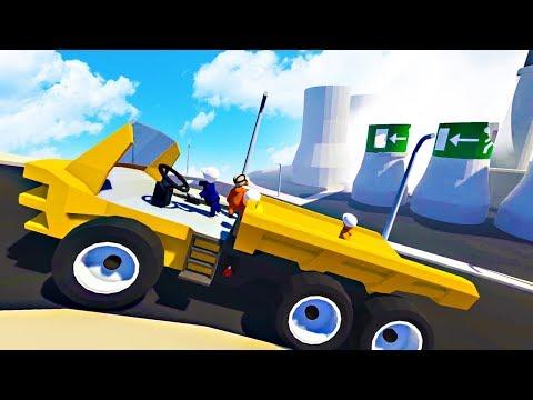 DRIVING A TRUCK! - Human Flat Fall