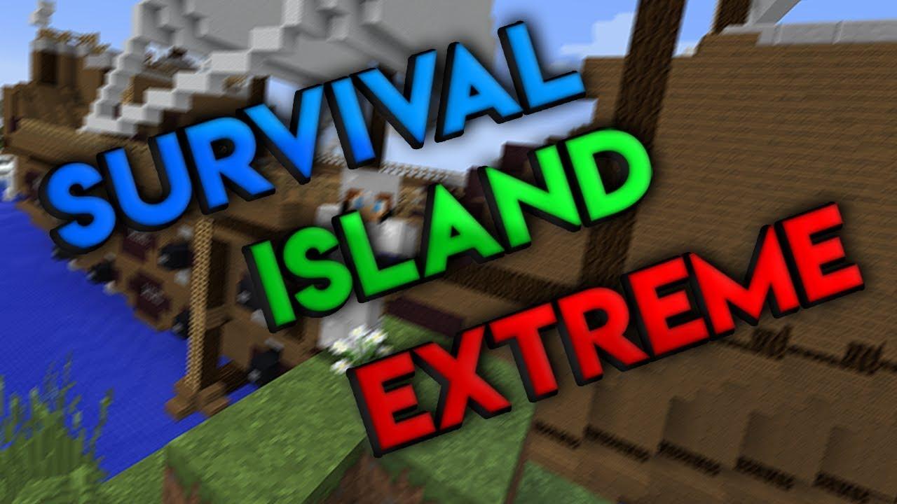 Survival Island Extreme 1 Am Revenit Minecraft 1 12 2 Adventure Map