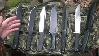 Extra Large survival knives