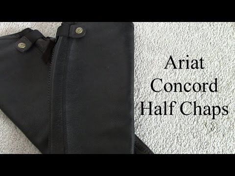 Review: Ariat Concord Half Chaps