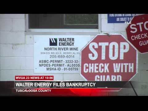 WALTER ENERGY FILES FOR BANKRUPTCY