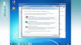 VPN unter Windows 7 einrichten - Sicher surfen mit GlobalVPN.net