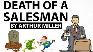 English Short Story - Death of a Salesman by Arthur Miller  - Stories Explained in Hindi for exams