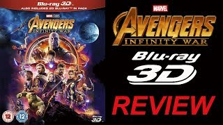 AVENGERS INFINITY WAR 3D Blu-ray Review