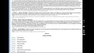 constitution of florida article 1 part 3