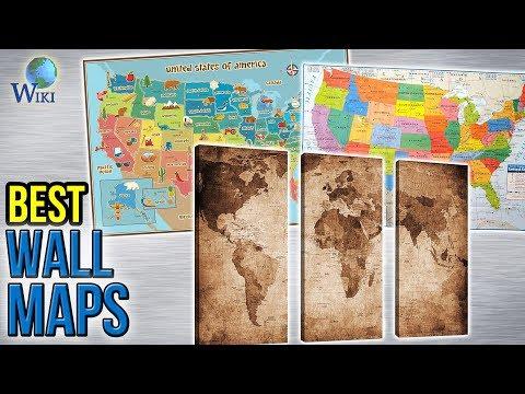 10-best-wall-maps-2017