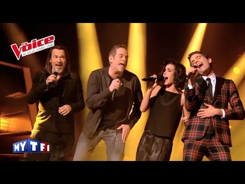 Gainsbourg – Vieille Canaille |Mika, Jenifer, Garou & Florent Pagny |The Voice 2014 | Épreuve Ultime