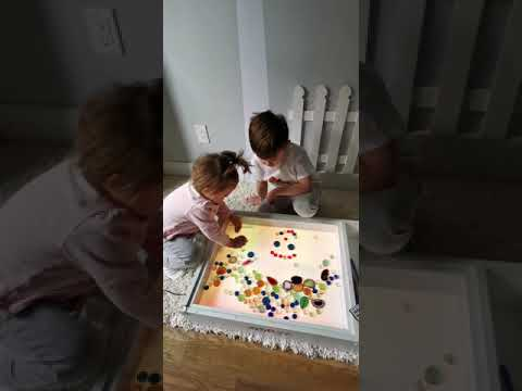 Art & Play Light Activity Box 5-in-1. Handmade with LOVE!