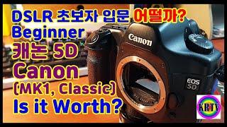 캐논5D 카메라 초보자에게 강추? Canon 5D cl…