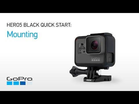 GoPro: HERO5 and HERO6 Black Quick Start - Mounting