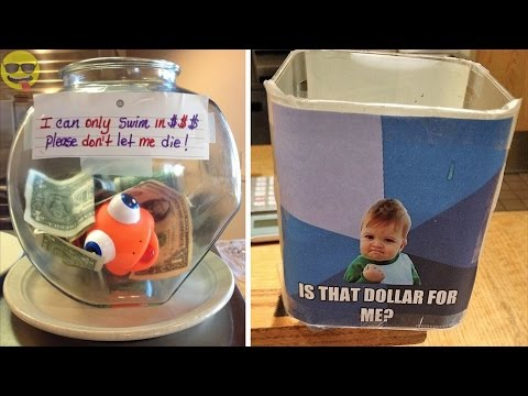 Creative and Clever Tip Jars to Increase Tips