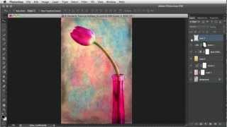 #Photoshop Workbench 351: French Kiss Painterly Texture Montage
