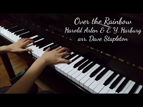Over the Rainbow (Harold Arlen, arr. Dave Stapleton)