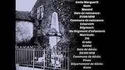 Esbareich  Mémorial de la Barousse