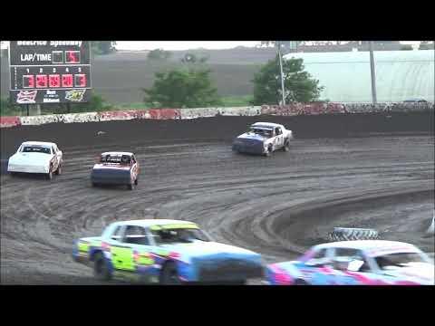 Beatrice Speedway Hobby Stock Heat Featuring 41 Adam Wasserman