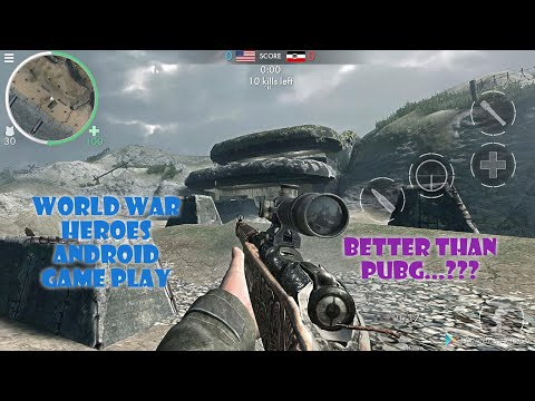 World War Heroes Offline Game || World War Heroes Mobile|| World War Heroes Best Gameplay In Android