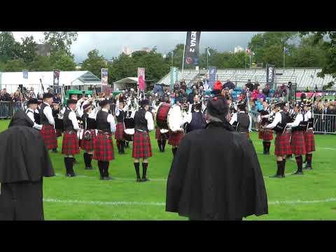 2017 World Pipe Band Championships Dollar Academy