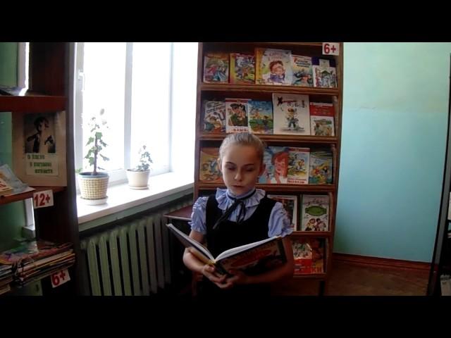 Изображение предпросмотра прочтения – ДианаСерга читает произведение «Кукушка и Петух» И.А.Крылова