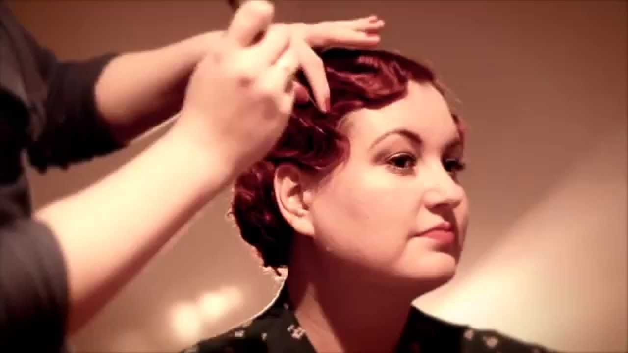 Fabulous Finger Waves 1920s 1930s Finger Wave Tutorial YouTube
