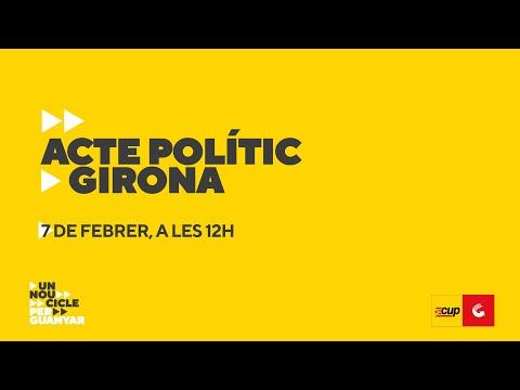 Acte polític - Girona