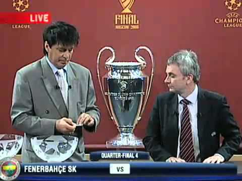 UEFA Champions League 07 08 quarter and semi finals draw
