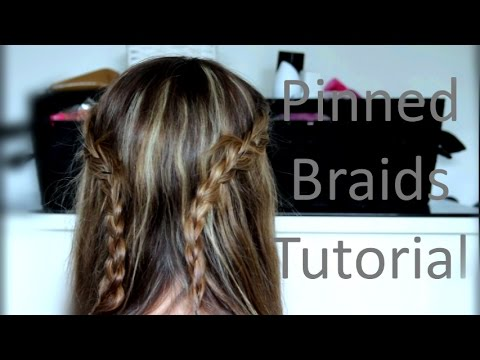 Pinned Braids | Easy Summer Hair
