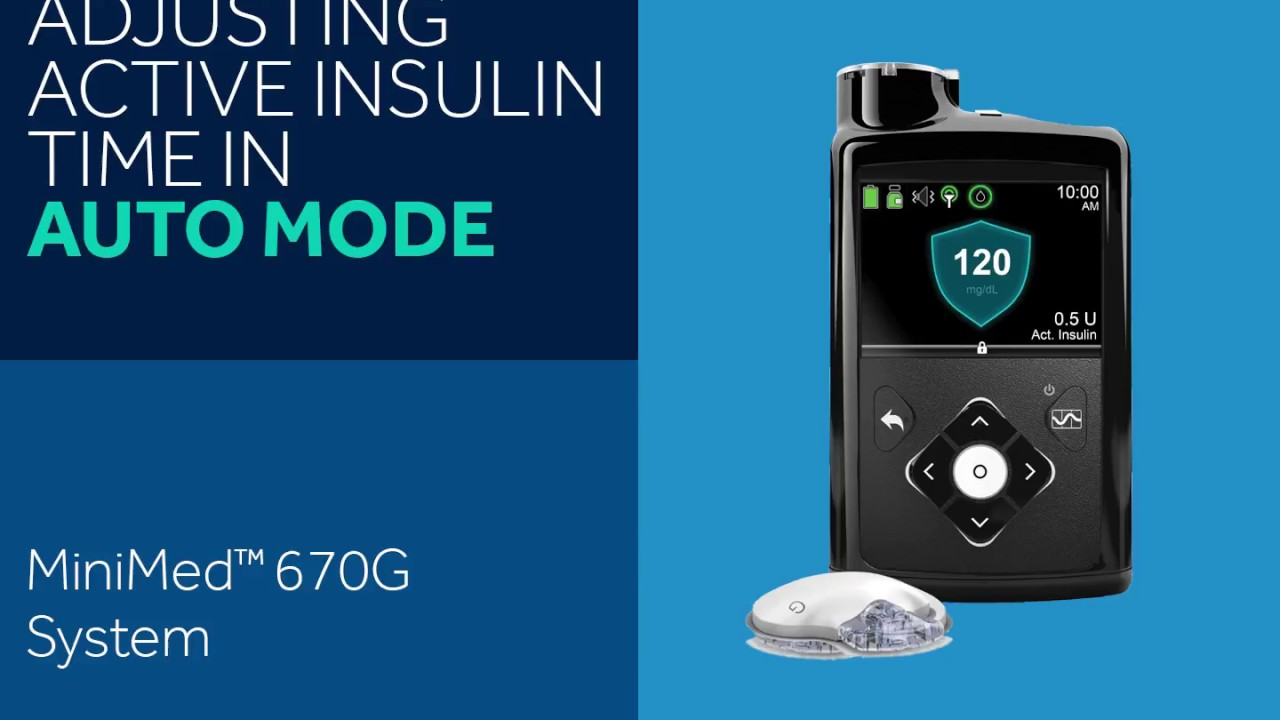 How to Adjust Active Insulin on The MiniMed™ 670G System
