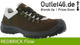 REDBRICK Flow S3 Echtleder Sicherheits-Schuhe l Sicherheit bis 200 Joules l 360° Video l Outlet46.de