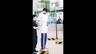Dylan Wang 王鹤棣 at Airport