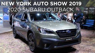 New York Auto Show 2019 | 2020 Subaru Outback | Driving.ca